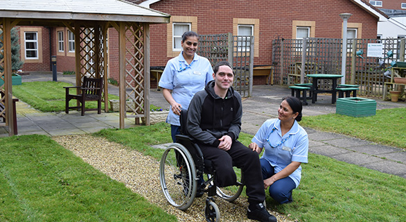 Central England Rehabilitation Unit (CERU) Sensory Garden